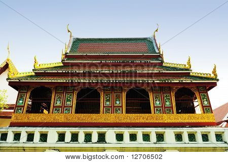 Wat Ratchanatdaram Temple ( Chainese Style )