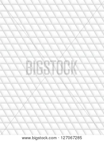 white abstract geometry pattern vector seamless texture background