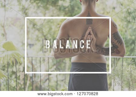 Balance Stable Equality Steady Wellness Health Concept