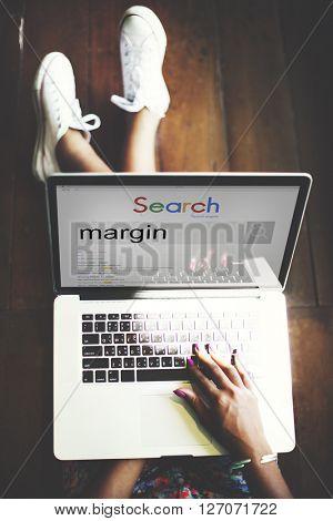 Margin Account Profit Boundery Perimeter Concept
