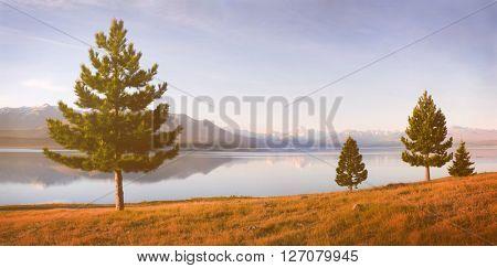 Nature Landscape Suburb Solitude Tranquil Remote Concept