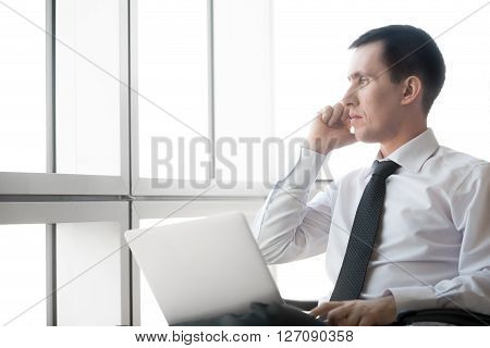 Corporate Businessman On Phone