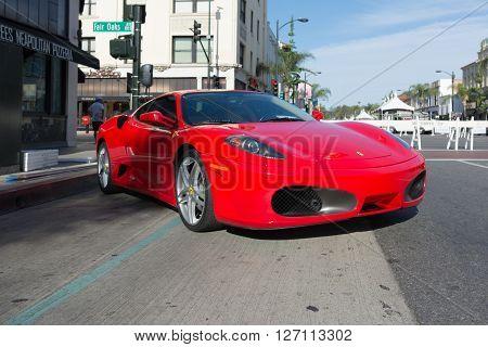 Ferrari F430 On Display