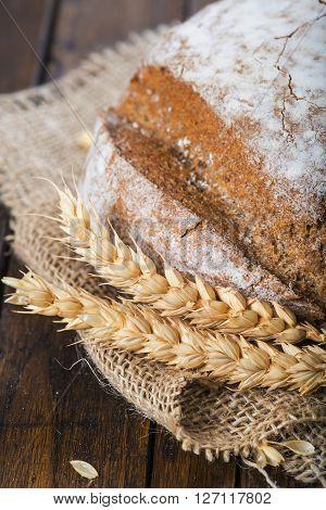 Homemade Multigrain Sourdough Bread