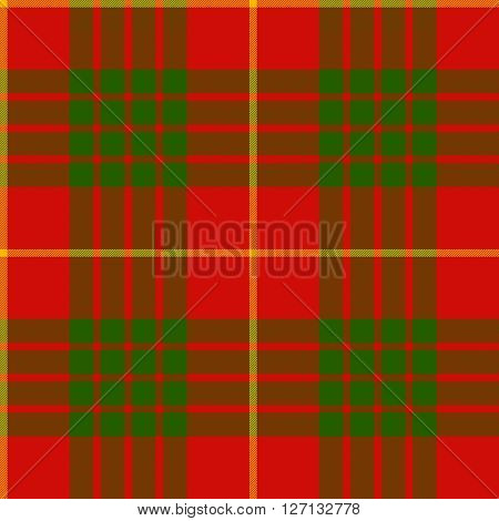 clan cameron tartan seamless pattern vector illustration