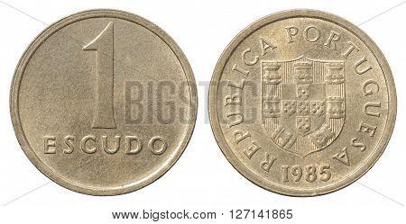 One Portuguese Escudo