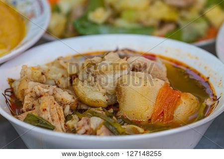Hot And Spicy Soup Pork Cartilage