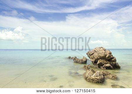 sky sea and beach phuket island Thailand