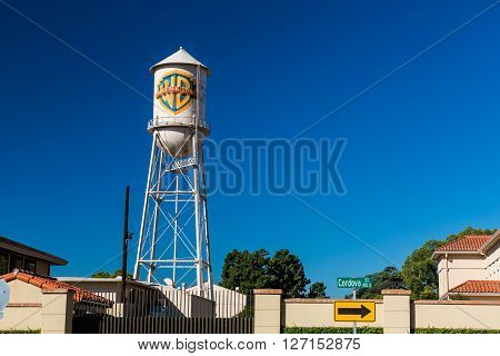 Burbank, California - September 13: Outside Views Of The Warner Brothers Studios Buildings On Septem