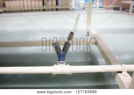 Pneumatic connector/ Quick Coupler/ 3 Way Multi Pass