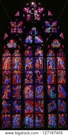 Stained Glass - Passion Of Jesus Christ