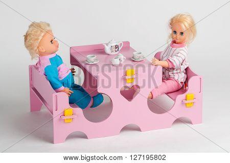 Toys. Tea Party