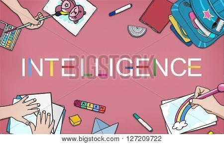 Intelligence Bright Smart Genius Insight Skilled Concept