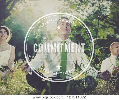 Commitment Compliance Devotion Loyalty Concept