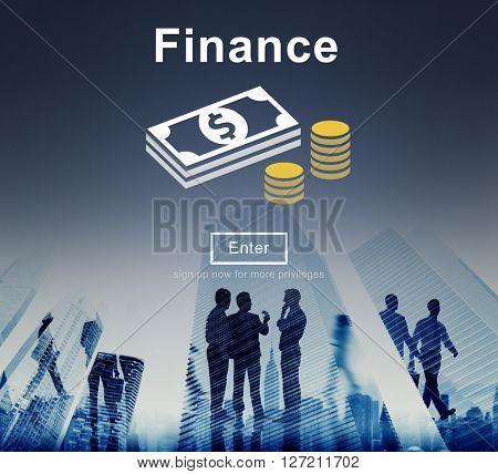 Finance Financial Money Cash Economics Concept