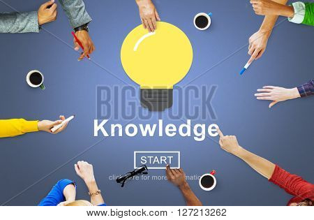 Knowledge Expertise Intelligence Learn Concept