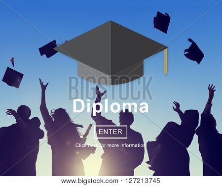 Diploma Education Degree Graduation Learning Concept