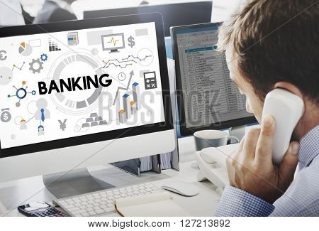 Banking Finance Economy Currency Fund Money Concept