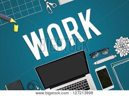 Work Job Occupation Career Concept