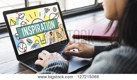 Inspiration Aspiration Confidence Creative Dream Concept