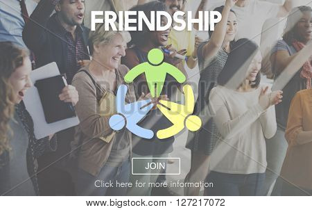 Friendship Connection Together Unity Community Concept