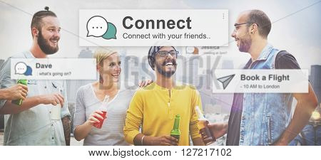Connect Connection Social Network Media Concept