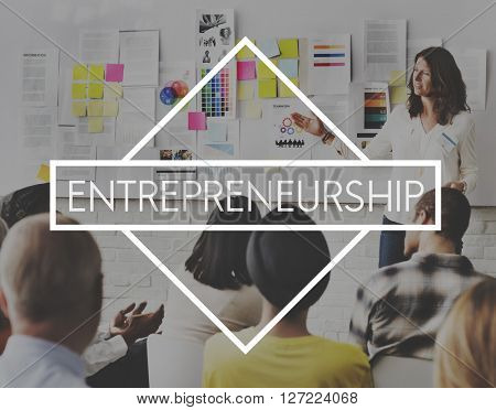 Entrepreneur Business Enterprise Start-up Concept