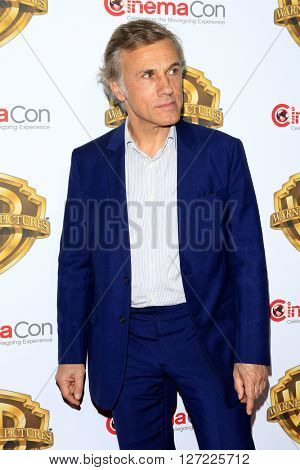 LAS VEGAS - APR 12:  Christoph Waltz at the Warner Bros. Pictures Presentation at CinemaCon at the Caesars Palace on April 12, 2016 in Las Vegas, CA