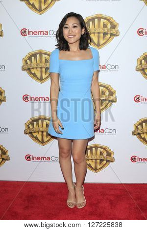 LAS VEGAS - APR 12:  Karen Fukuhara at the Warner Bros. Pictures Presentation at CinemaCon at the Caesars Palace on April 12, 2016 in Las Vegas, CA