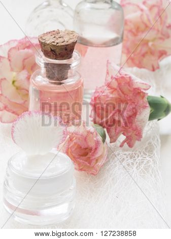 natural cosmetics, fresh as flowers