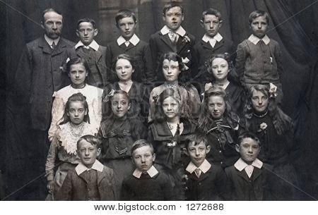 Vintage School Photo