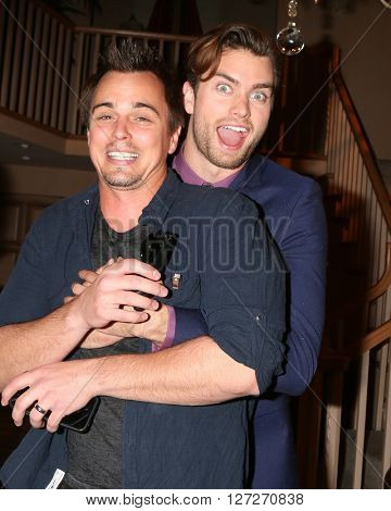 LOS ANGELES - APR 25:  Darin Brooks, Pierson Fode at the Bold and Beautiful Emmy Nominees Celebration at the CBS Television City on April 25, 2016 in Los Angeles, CA