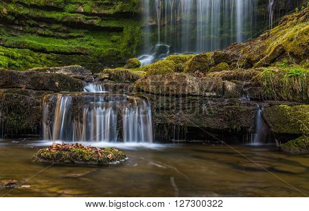 Scalebar Waterfall near Settle in Yorkshire Dales