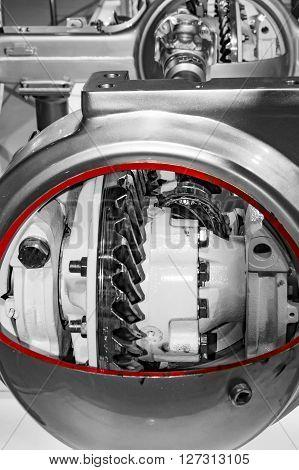 Inside Axel Of Truck