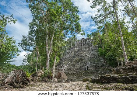 La Iglesia Or The Church Pyramid, Coba Ruins, Quintana Roo, Mexico