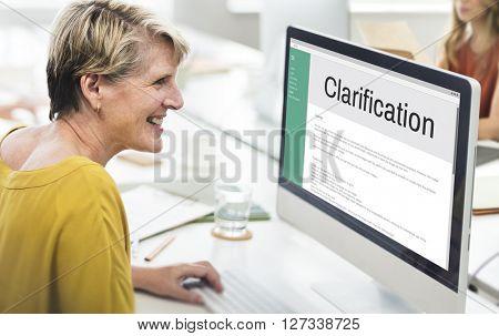 Clarification Determination Explanation Question Concept