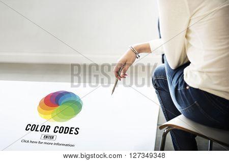 Color Creativity Color Codes scheme Concept