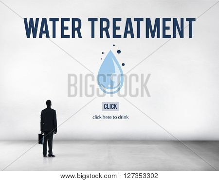 Water Treatment Clean Removal Sewage Sludge Concept