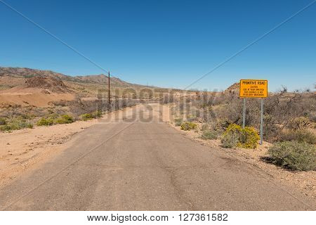 Rough Desert Road