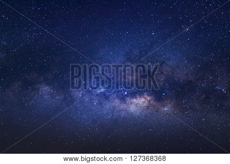 Close-up Of Milky Way Galaxy,long Exposure Photograph, With Grain
