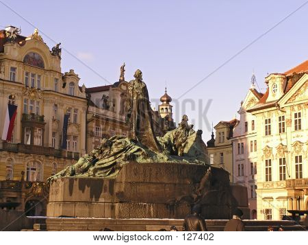 Old Monument In Prague