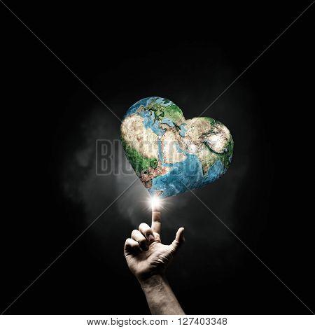 Idea of Earth creation