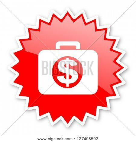 financial red tag, sticker, label, star, stamp, banner, advertising, badge, emblem, web icon
