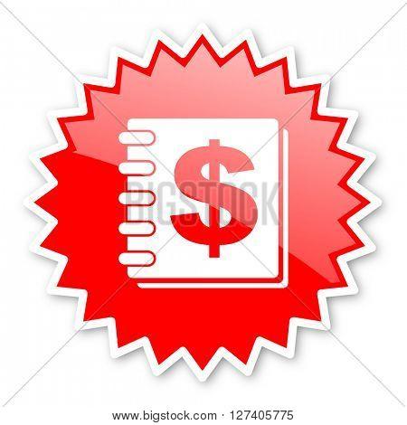money red tag, sticker, label, star, stamp, banner, advertising, badge, emblem, web icon