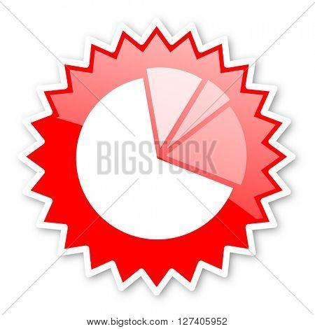 diagram red tag, sticker, label, star, stamp, banner, advertising, badge, emblem, web icon