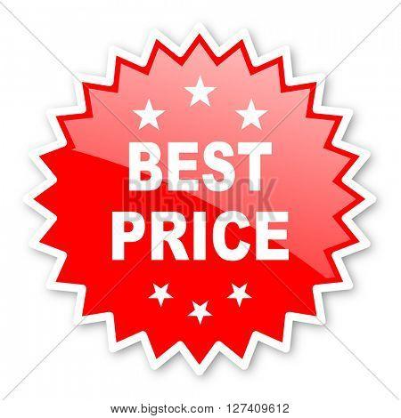 best price red tag, sticker, label, star, stamp, banner, advertising, badge, emblem, web icon