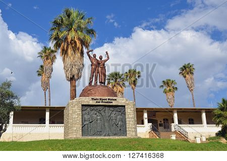 Liberation Statue, Windhoek, Namibia