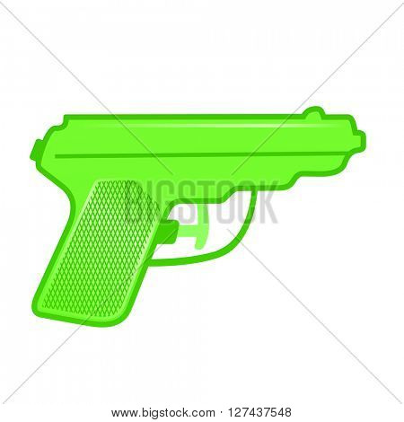 water gun vector illustration isolated on white background