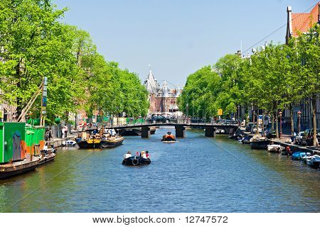 The Amsterdam Canal System