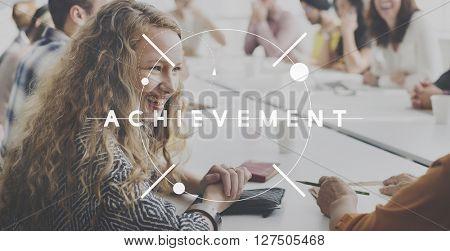 Achievement Success Accomplishment Excellence Concept